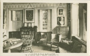 The Study of Ralph  	Waldo Emerson, Antiquarian Society, Concord, Massachusetts;