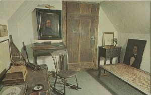 The Thoreau Room;  	circa 1968 (note date)