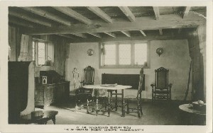 The Seventeenth  	Century Room, The Antiquarian Society, Concord, Massachusetts; early to mid- 20th century