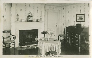 The Classic Revival  	Room, The Antiquarian Society, Concord, Massachusetts; early to mid- 20th century