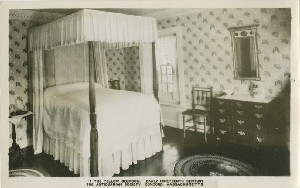 The Yellow Bedroom,  	Early Nineteenth Century, The Antiquarian Society, Concord, Massachusetts; early to mid- 20th century