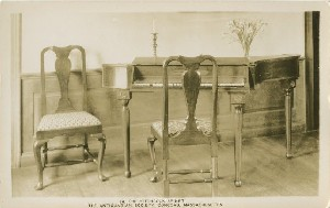 The Hitchcock Spinet,  	The Antiquarian Society, Concord, Massachusetts; early to mid- 20th century