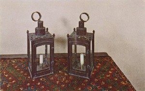 The Signal Lanterns of  	Paul Revere, Old North Church, Salem Street; mid- to late 20th century