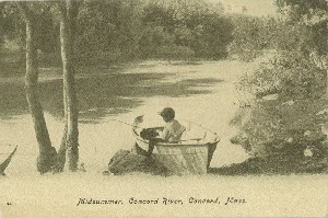 Midsummer, Concord River, 	 Concord, Mass.; early to mid- 20th century