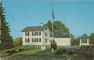 [Acton, Massachusetts  	home of Captain Isaac Davis, first officer to die in the Concord Fight]; 1968 (copyright date)