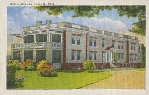 Deaconess Home,  	Concord, Mass.; early 20th century