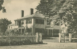 Home of Ralph Waldo  	Emerson, Concord, Mass.; early 20th century