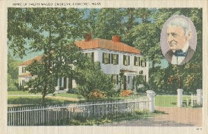 Home of Ralph Waldo  	Emerson., Concord, Mass.; early 20th century
