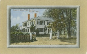 Home of Ralph Waldo  	Emerson, Concord, Mass; early to mid- 20th century
