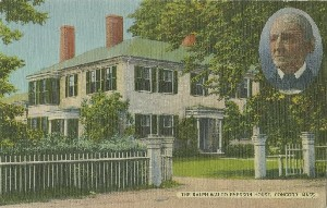 The Ralph Waldo Emerson 	 House in Concord, Mass.; early 20th century
