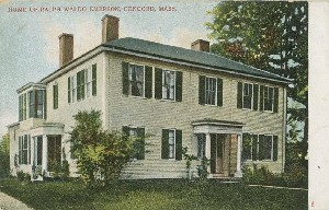 Home of Ralph Waldo  	Emerson, Concord, Mass; early 20th century