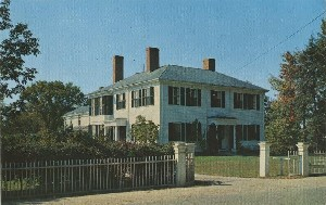 Emerson's Home,  	Concord, Massachusetts; late 20th century