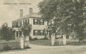 Emerson House,  	Concord, Mass.; early 20th century