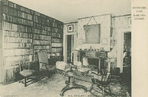 Concord, Mass., Emerson's 	 Library; early 20th century