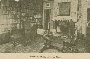 Emerson's Study, Concord, 	 Mass.; early 20th century
