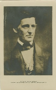 Ralph Waldo Emerson.  	The Emerson House, Concord, Massachusetts; early to mid-20th century