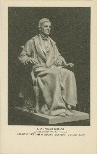 Ralph Waldo Emerson  	(Daniel Chester French, Sculptor), Concord Free Public Library, Concord, Massachusetts; 20th century
